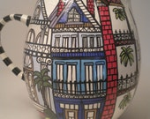 New Orleans Archeticture Pitcher