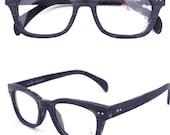 Christmas discount  handmade MJX1001 Wood grain acetate   eyeglasses with prescription