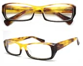 handmade acetate  TAKE BY TAKEMOTO  Similar to the horn glasses  with prescription lenses