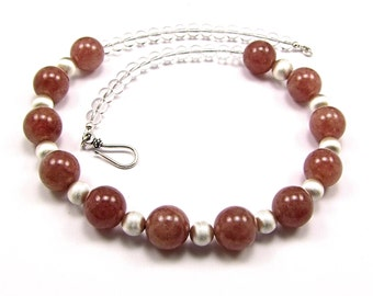 Rare - Muscovite & Sterling Silver Necklace - N690