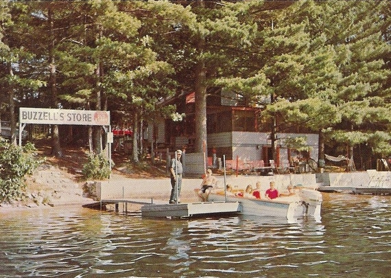 Items Similar To New Hampshire Postcard Kingston Lake Nh