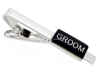 Groom Wedding Tie Clip 1800042