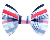"""Cat Bow Tie - """"The Stud Muffin"""" - Plaid"""