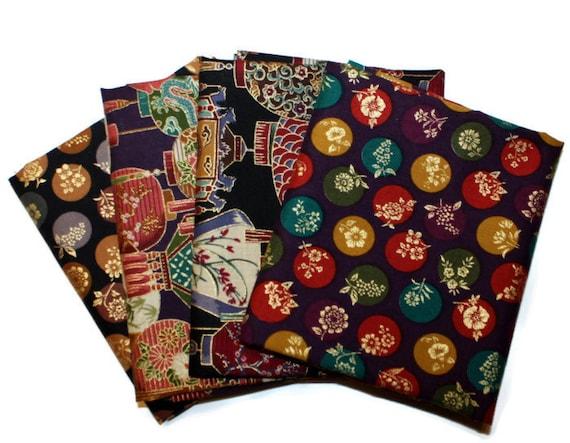 Oriental Quilting Fabric Oriental Garden Fabric Fat