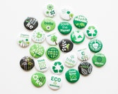 Buttons - Eco Green (Set of 20)