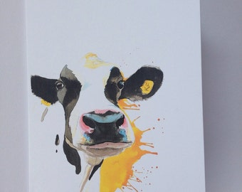 Cow card, cow , cows, cattle