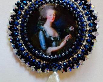 Marie Antoinette Brooch