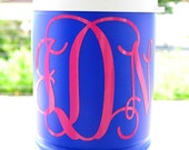 Vinyl Personalized Thermos