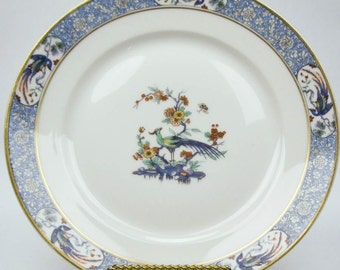 Dinner Plate Theodore Haviland Limoges France Fine China Vintage Rajah Pattern