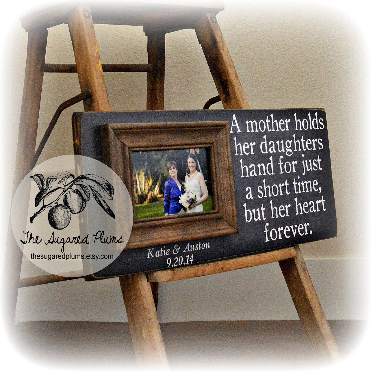 Mother of the Bride Gift Wedding Gift For Mom Personalized