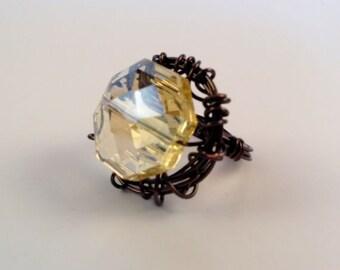 Gem Nest Ring