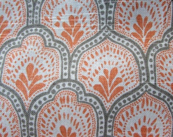 ISLA APRICOT designer, decorator/drapery/bedding/upholstery ikat fabric