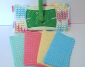 Spring Cleaning Kit, Swiffer Cover, Washcloths