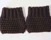 Crochet Boot Cuffs, Leg Warmers, Boot Socks