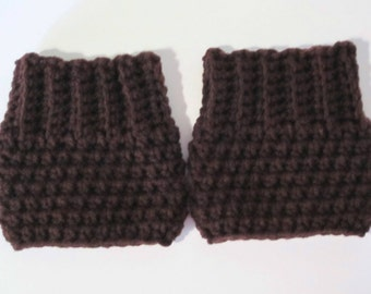 Boot Cuffs, Boot Socks, Boot Topper,  Plus Size Extra Large