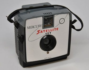 MERCURY SATELLITE CAMERA, 127 Vintage Camera