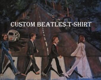 CUSTOM painted T-Shirt for Kati