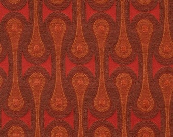 Maharam Fabric Design 9297 Josef Hoffmann - Scarlet Red  - Mid Century Modern - New, Authentic High-End Designer Fabric - Sold By-the-Yard