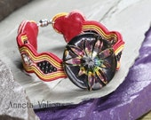 SOUTACHE KIT for the Zenith bracelet - instructions in English and materials