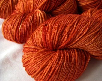 Superwash Merino Fingering - Artemis - Tomato Soup