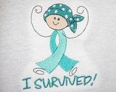 Cancer Tshirt - I SURVIVED!