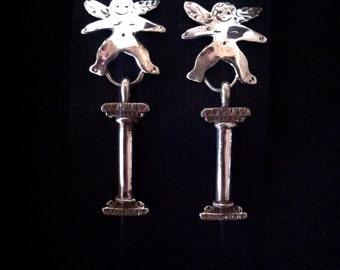 Angel Column Earrings