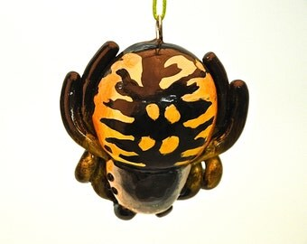 Argiope Spider Christmas Ornament