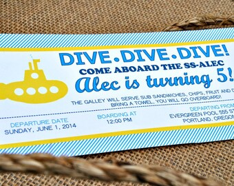 Submarine Invitations