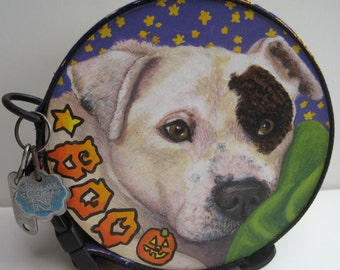 KEEPSAKE CADDY a made to order K9 cache to keep memories of your furry friend forever.