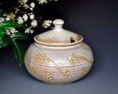 Sugar Bowl Small Ceramic Stoneware Jar C