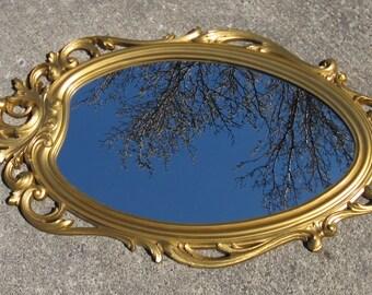 ornate wall mirror syroco wall mirror hollywood regency mirror shabby french apartment