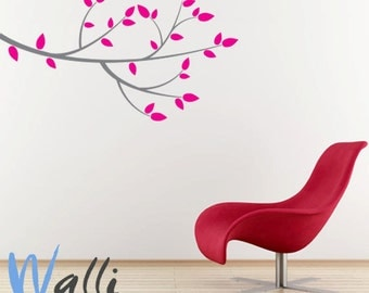 Branch wall decal with customize color