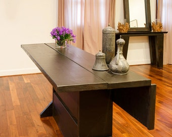 6 foot hinged farm table