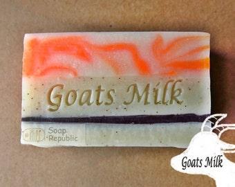 Goat milk soap 2 / Acrylic Soap Stamp ( Soap Republic )