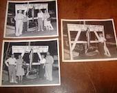1940s Palm Beach Yacht Club Sailfish Fishing 3 Real Photographs  8 x 10