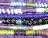 One Purples, Yarn Falls, Hippie Hair Wraps, Braid & Dreadlock Extensions, Accessories, Atebas, Fun Colors for Your Hair, Purple Color Scheme