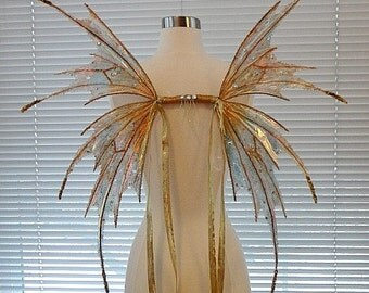 Fairy Golden Wings-(Made to Order by Request)