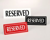 RESERVED FOR JANET