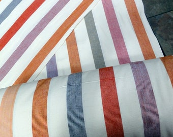 Guatemalan Fabric in Wide Stripes