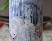 Ice Queen - Tempest of Ice - Scented Soy Candle in Glass Jar