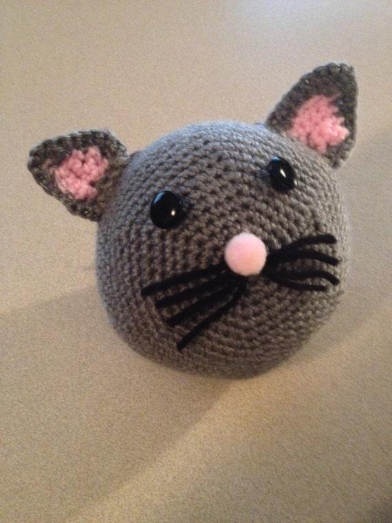 Close Amigurumi Ball : Items similar to Amigurumi Crochet Cat Ball PDF Pattern ...