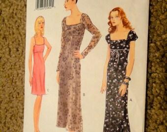 Vogue Empire Cut Dresses