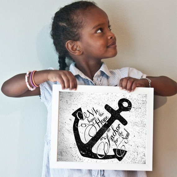 Printable 11x14 Anchor