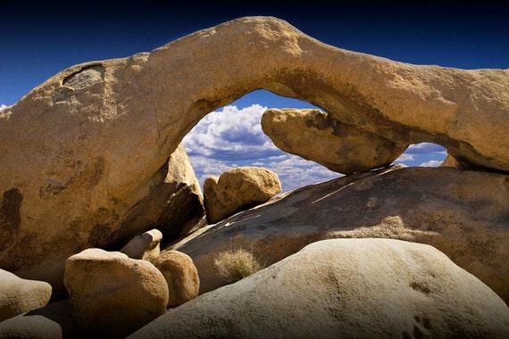 Rock Arch in the Joshua Tree National Park in California No.0308 - A Fine Art Desert Landscape Photograph
