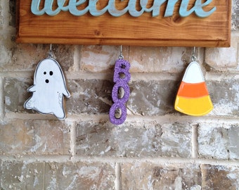 Halloween Ornaments for Welcome Sign