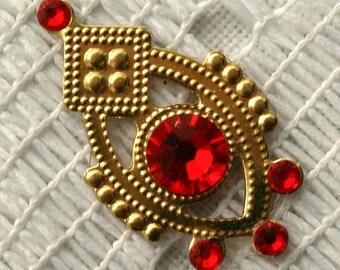 SALE - Affordable Light Crimson Bindi