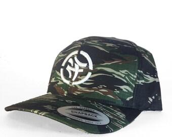 KLCTVEfusion Green Tigerstripe Camo Snapback