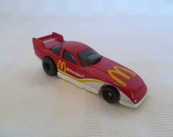 Vintage Hot Wheels McDonalds Race Car