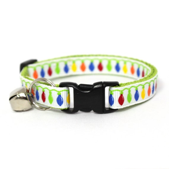 Christmas Cat Collar Twinkle Lights