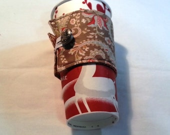 Reuseable Coffee Cup Sleeve/Cozy